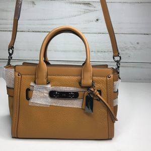 Coach Leather Satchel NWT